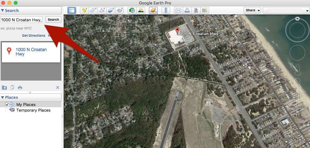 How can I create a KML/KMZ file of user waypoints defined by