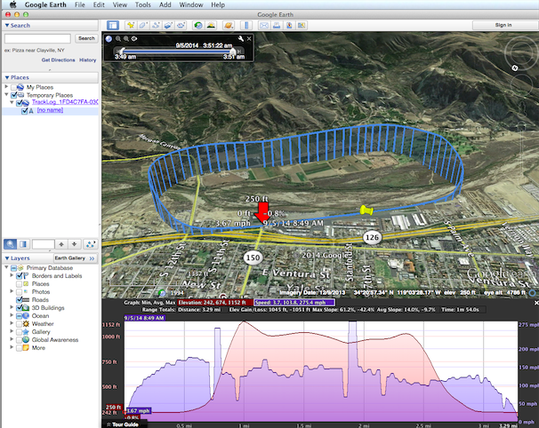 How Do I View Track Log Altitude Information In Google Earth - Elevation map google earth