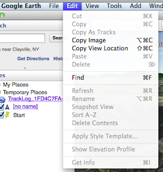 How Do I View Track Log Altitude Information In Google Earth - How to find my elevation